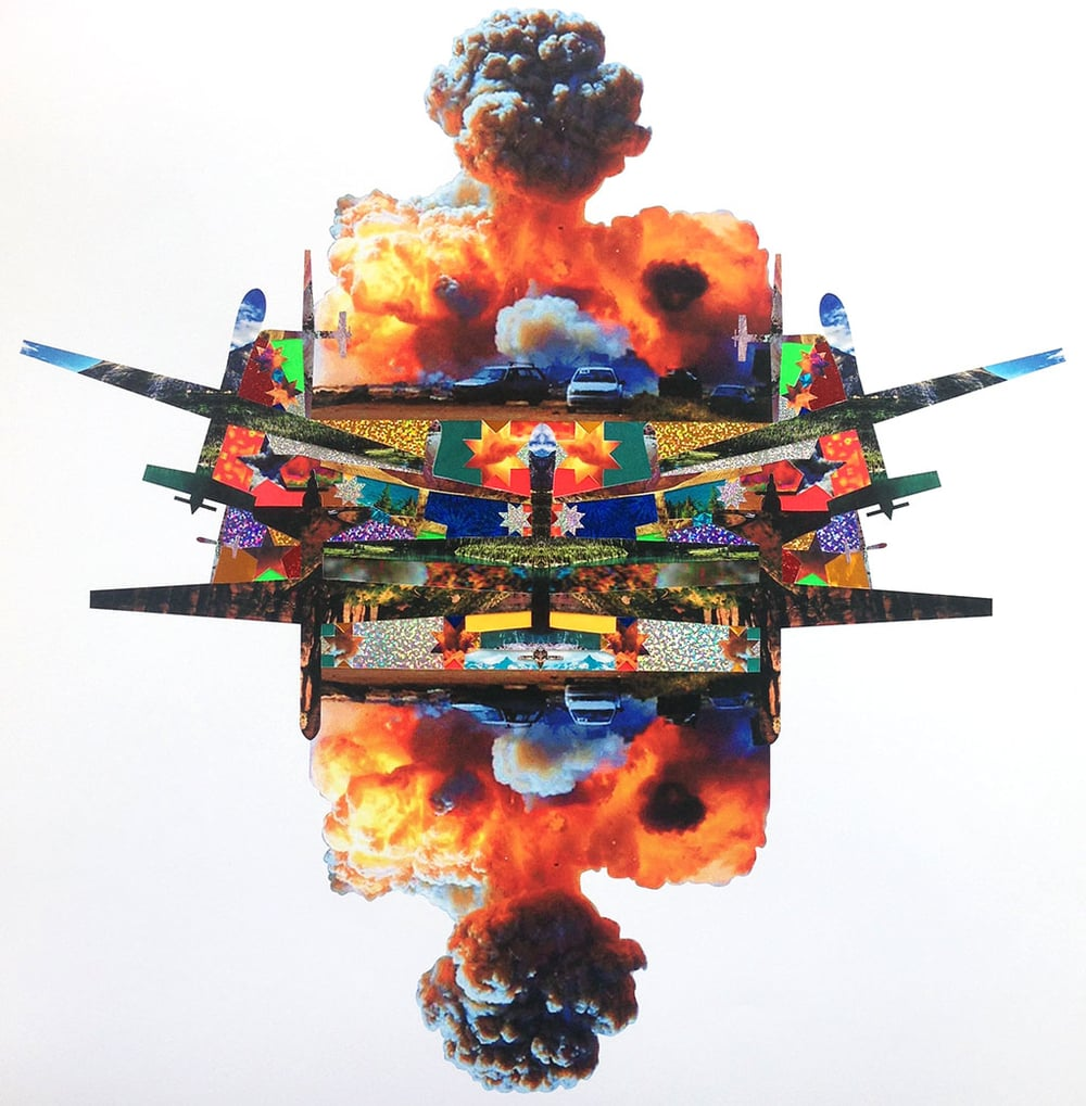 Untitled (Drone Collage I)