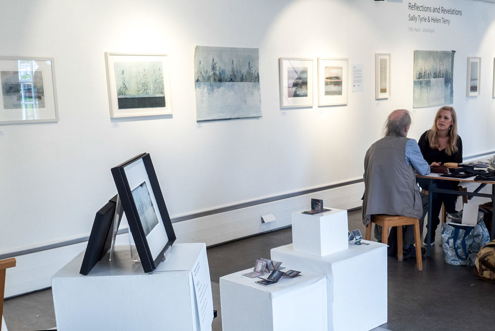 The work on show included Mixed Media, Photography, Prints and Drawings. Visitors could also view a slide show on a large screen Tv which revealed additional images from the project as well as our working practice.