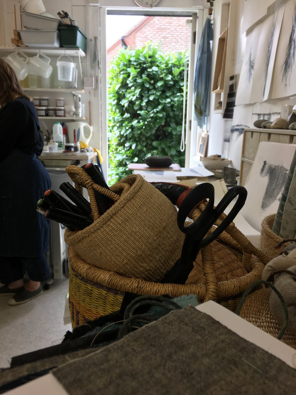 Helen Terry's Studio in August 2018