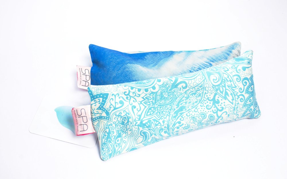Eye Pillow - Filled with organic lavender and chamomile buds creates a soothing aroma and gently put just enough pressure on the eye lids to keep shut and keep the lights out. Try using this during your meditation, for a power nap and when nursing stress headaches.Price: NGN 5,000