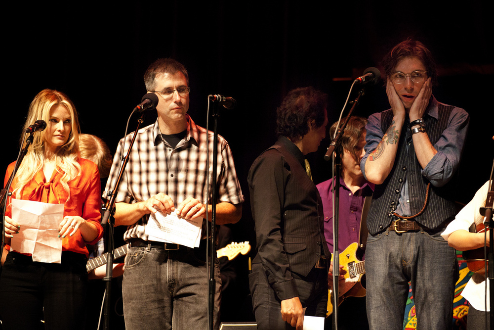 Elizabeth Cook, Todd Burge,  Alejandro Escovedo and Justin Townes Earle on Mountain Stage 2012