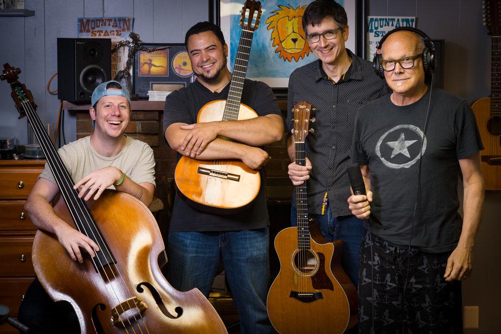 John Inghram, Ryan Kennedy, Todd Burge and Don Dixon photo by Richard Anderson