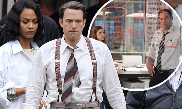 Zoe Saldana, Ben Affleck star in 'Live By Night' .