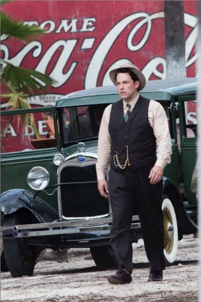 Big Ben: Affleck, as gangster 'Joe Coughlin' in 'Live by Night'.