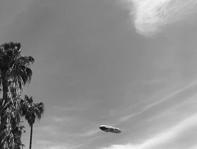 When I'm in LA, my family is near #LocalsOnly 🌴 . . . #discoverla #bnw_capture #losangelescity #southcentral #moody_tones #conquer_la #lagrammers #goodyearblimp
