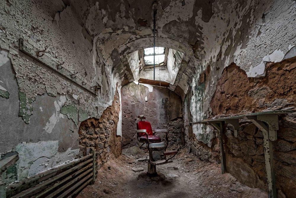 Eastern State Penitentiary, Philadelphia - Barber Chair