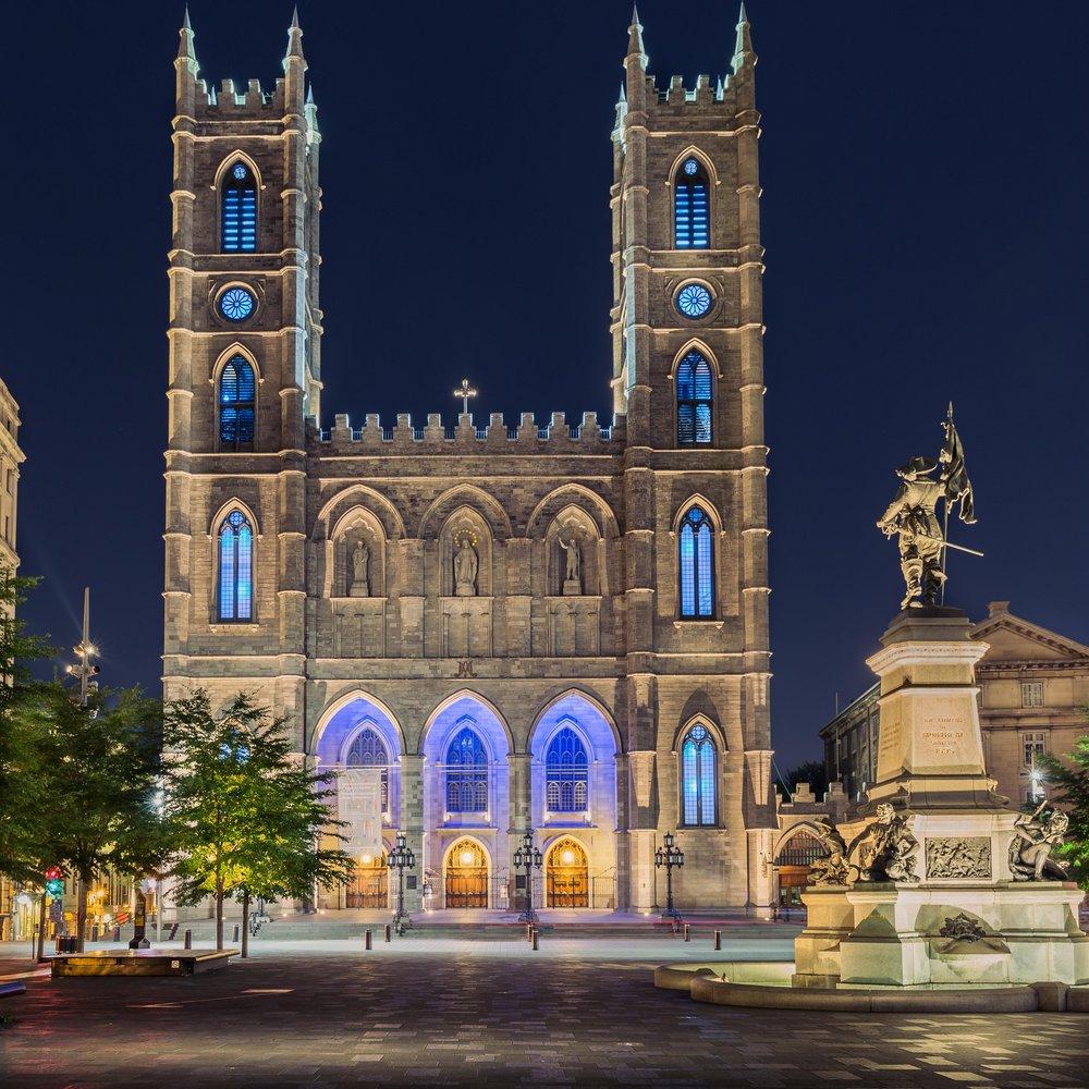 Notre-Dame Basilic-Montreal-Captura Camera
