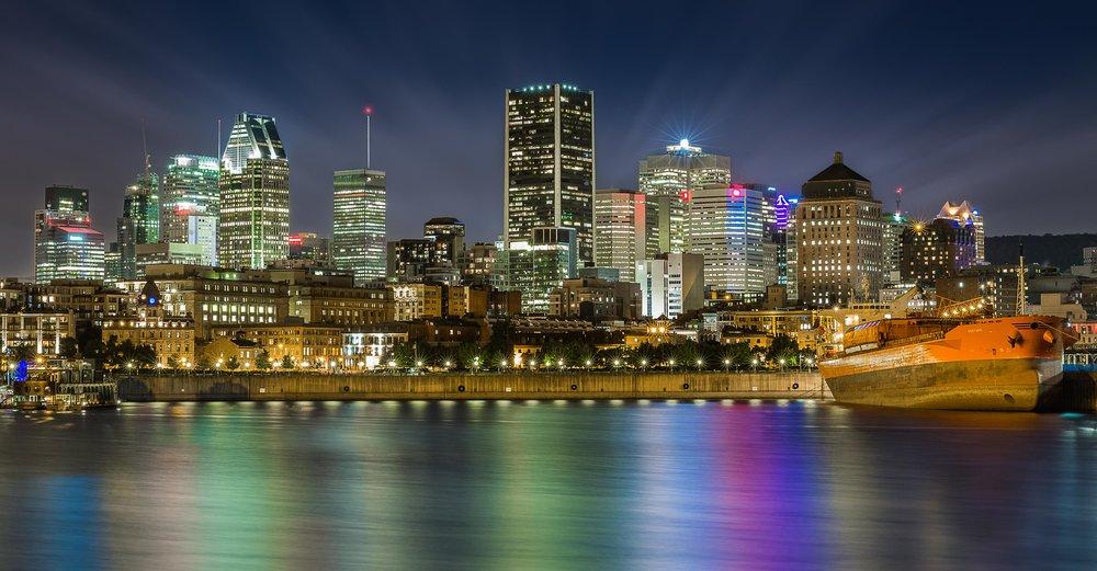 Old Port of Montreal Skyline-Landscape Photography-Captura Camera
