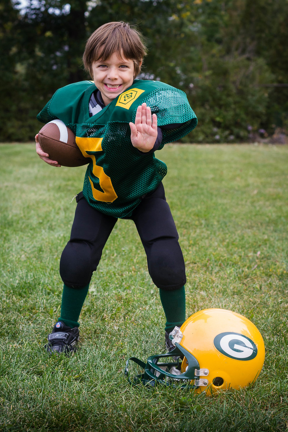 Greenfield Park Packers Football Association-Player Portrait-Captura Camera