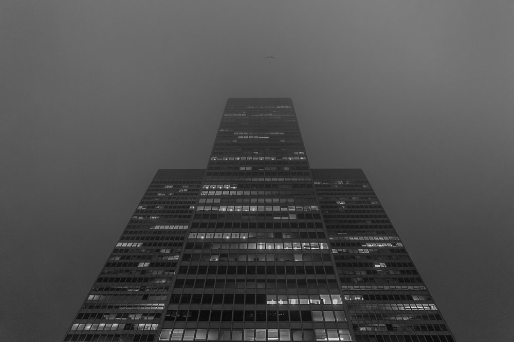 Place Ville Marie-Fog-Montreal-Captura Camera