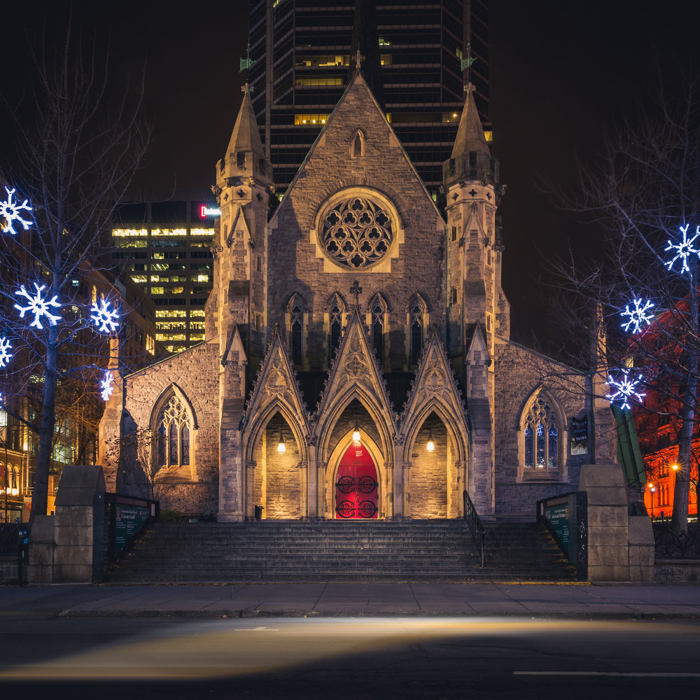 Christ Church Cathedral-Montreal-Captura Camera
