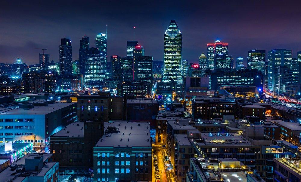 Montreal Skyline-Urban Exploration-Captura Camera