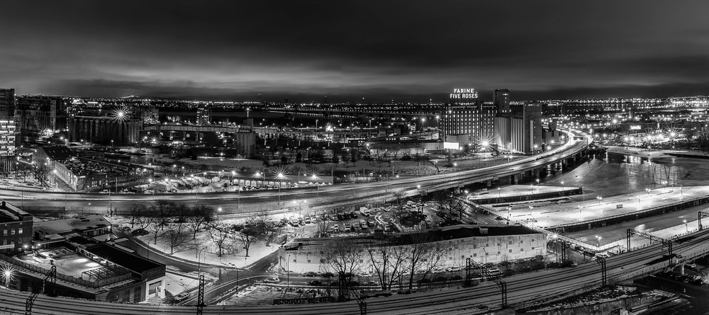 Chasing Rooftops in Montreal (Farine Five Roses)