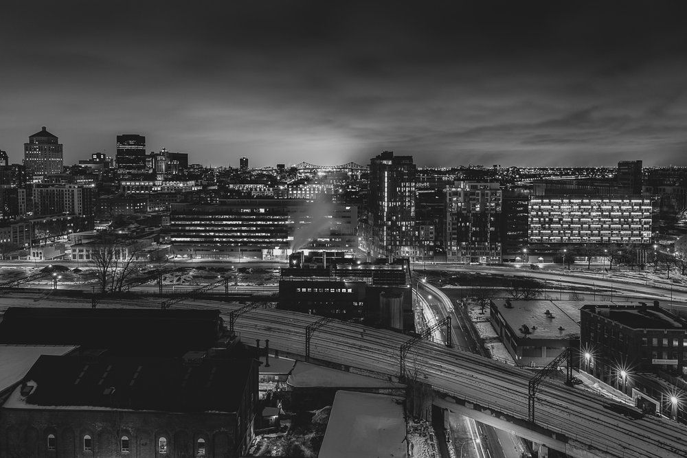 Chasing Rooftops in Montreal