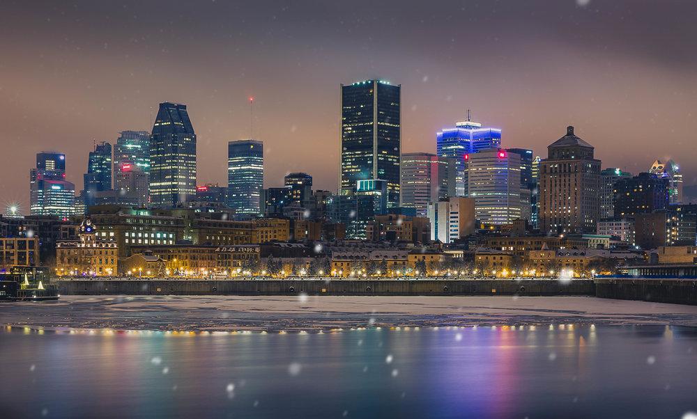 Montreal-Snow Fall-Captura Camera