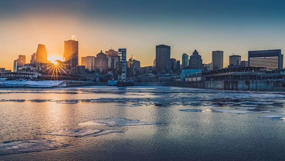 Montreal Sunset-Landscape Photography-Captura Camera