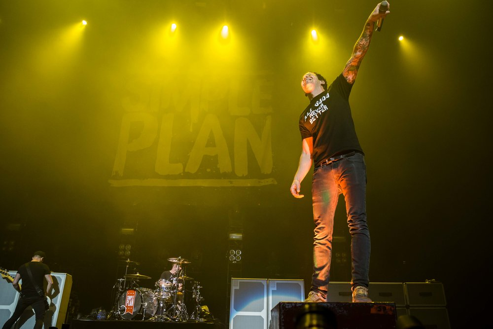 Simple Plan - Bell Center in Montreal