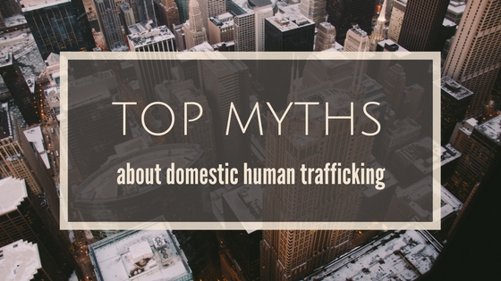 Human trafficking myths