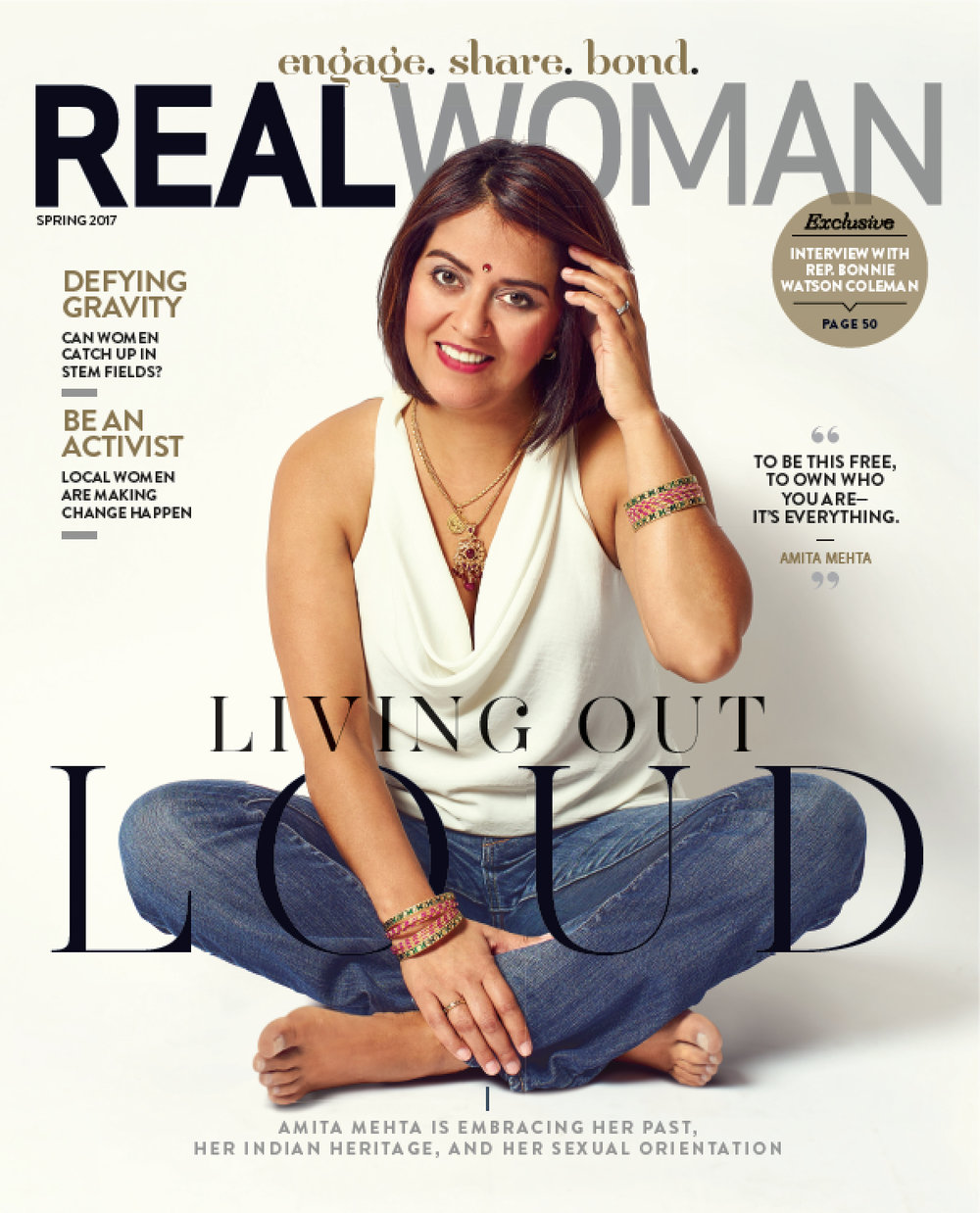 Real Woman: - Amita Mehta is Living Her Truth, and Loving It.