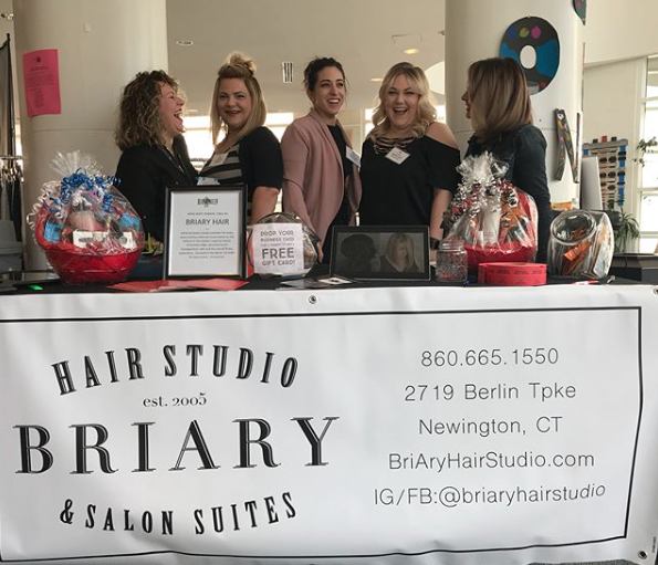 This past week alone we have participated in a women driven health and fitness event in Hartford, Connecticut, where stylists and our owners of BriAry were able to interact with women in the local community. Our stylists enjoyed braiding hair and touching up makeup between workouts and events and even heard that we were a favorite vendor. It was a special feeling to see so many women walking around with radiant smiles and a BriAry braid in their hair.