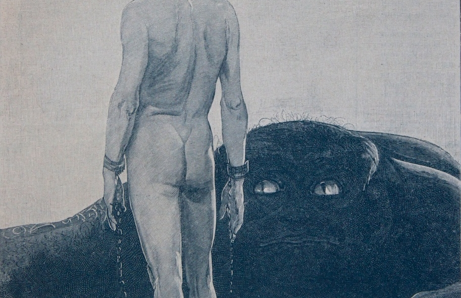 Alfred Kubin - Sascha Schneider    the Mysteries of Symbolism