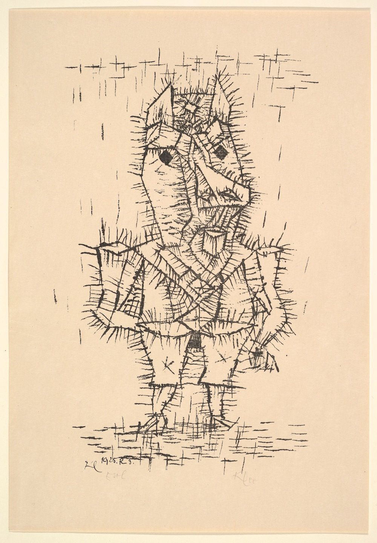 Paul Klee / Ass (Esel) / Lithograph on paper (Litografia su carta) / 1925