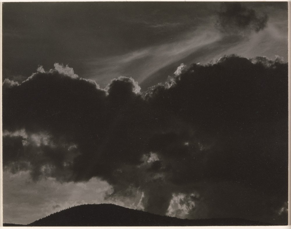 Alfred Stieglitz - Songs of the Sky - Gelatin silver print - 1924