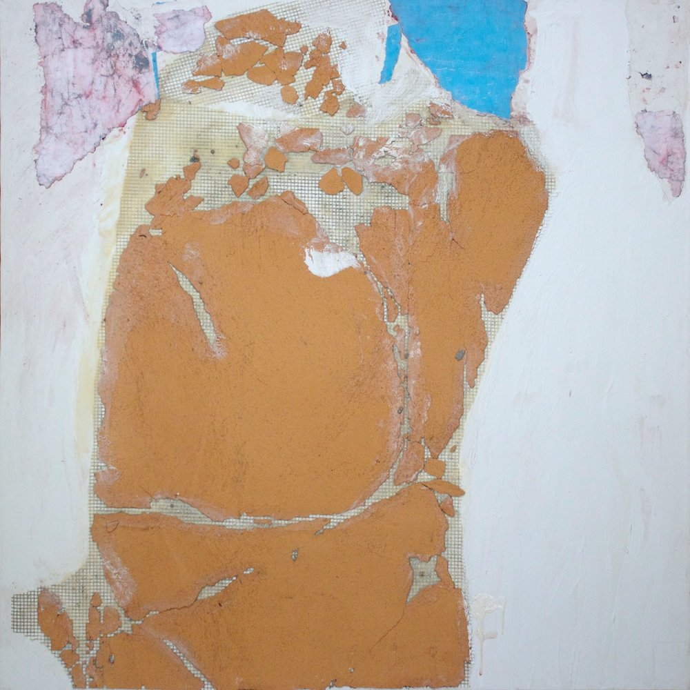 Marcello Mariani - Forma Archetipa - Plaster fragments and collage on canvas - 2009