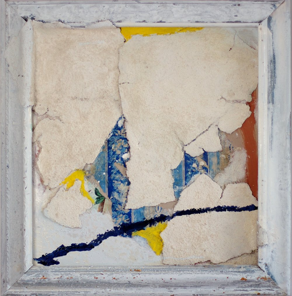 Marcello Mariani - Forma Archetipa - Plaster fragments and mixed media on cardboard - 2009