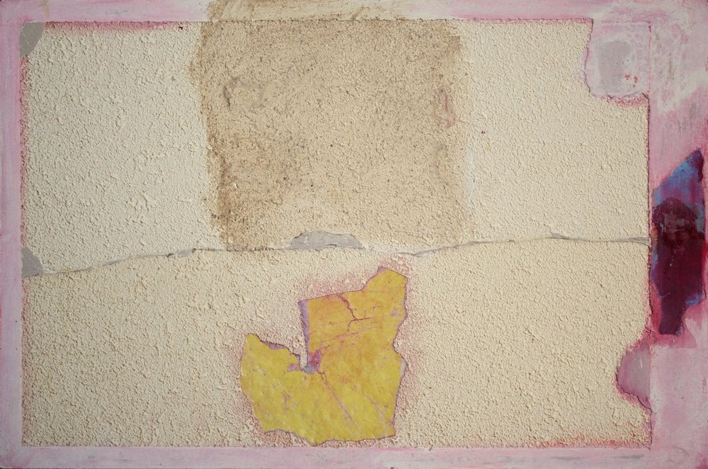 Marcello Mariani - Forma Archetipa - Plaster powder and mixed media on masonite - 2009