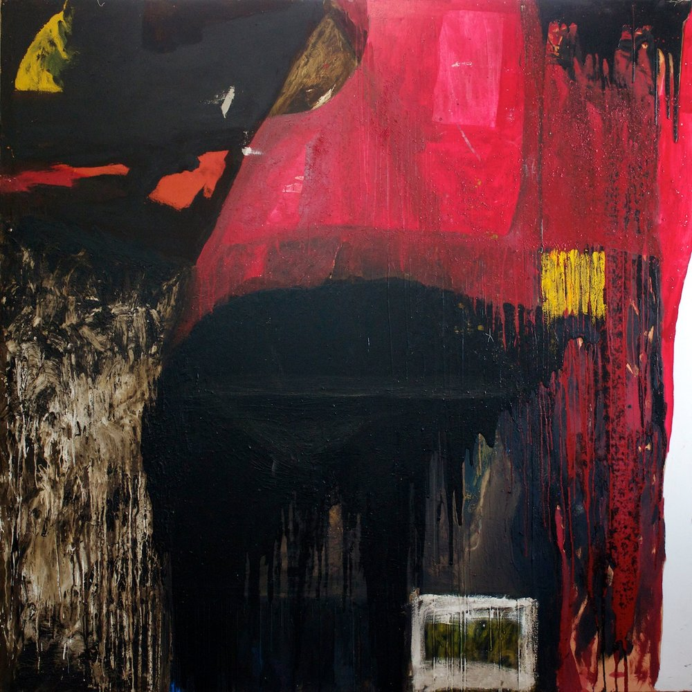 Marcello Mariani - Forma Archetipa - Oil and tar on canvas - 2011
