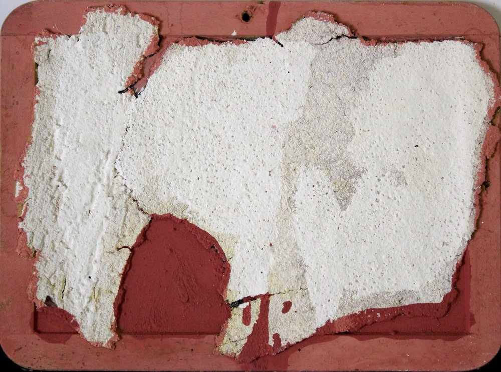 Marcello Mariani - Forma Archetipa - Plaster fragments and mixed media on board - 2009