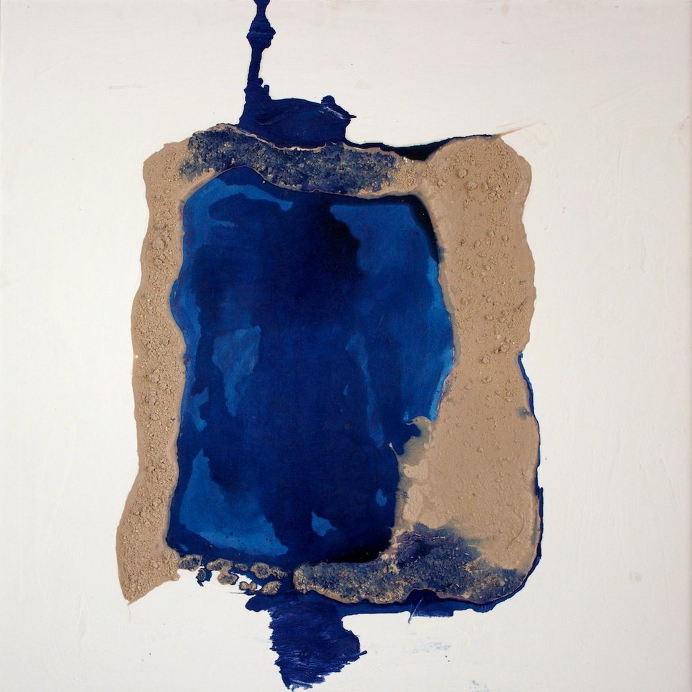 Marcello Mariani - Forma Archetipa - Plaster powder and mixed media on canvas - 2009