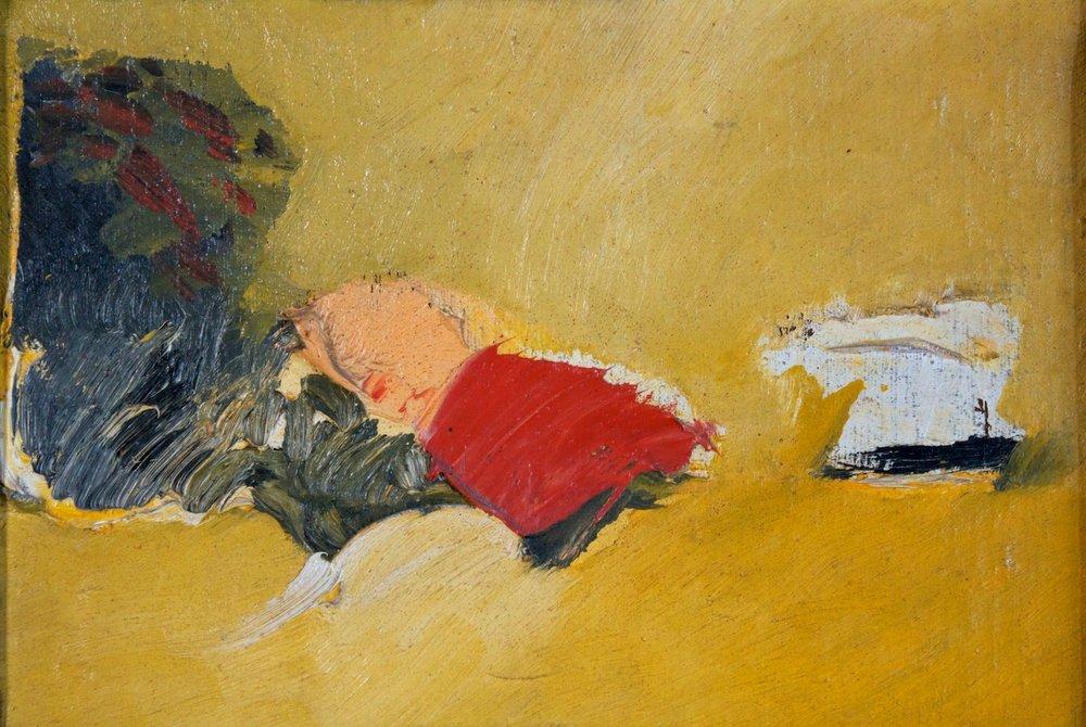Marcello Mariani - Paesaggio - Oil on canvas - 1960