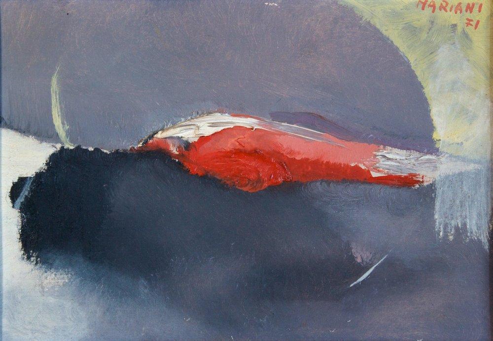 Marcello Mariani - Cellula - Oil on canvas - 1971