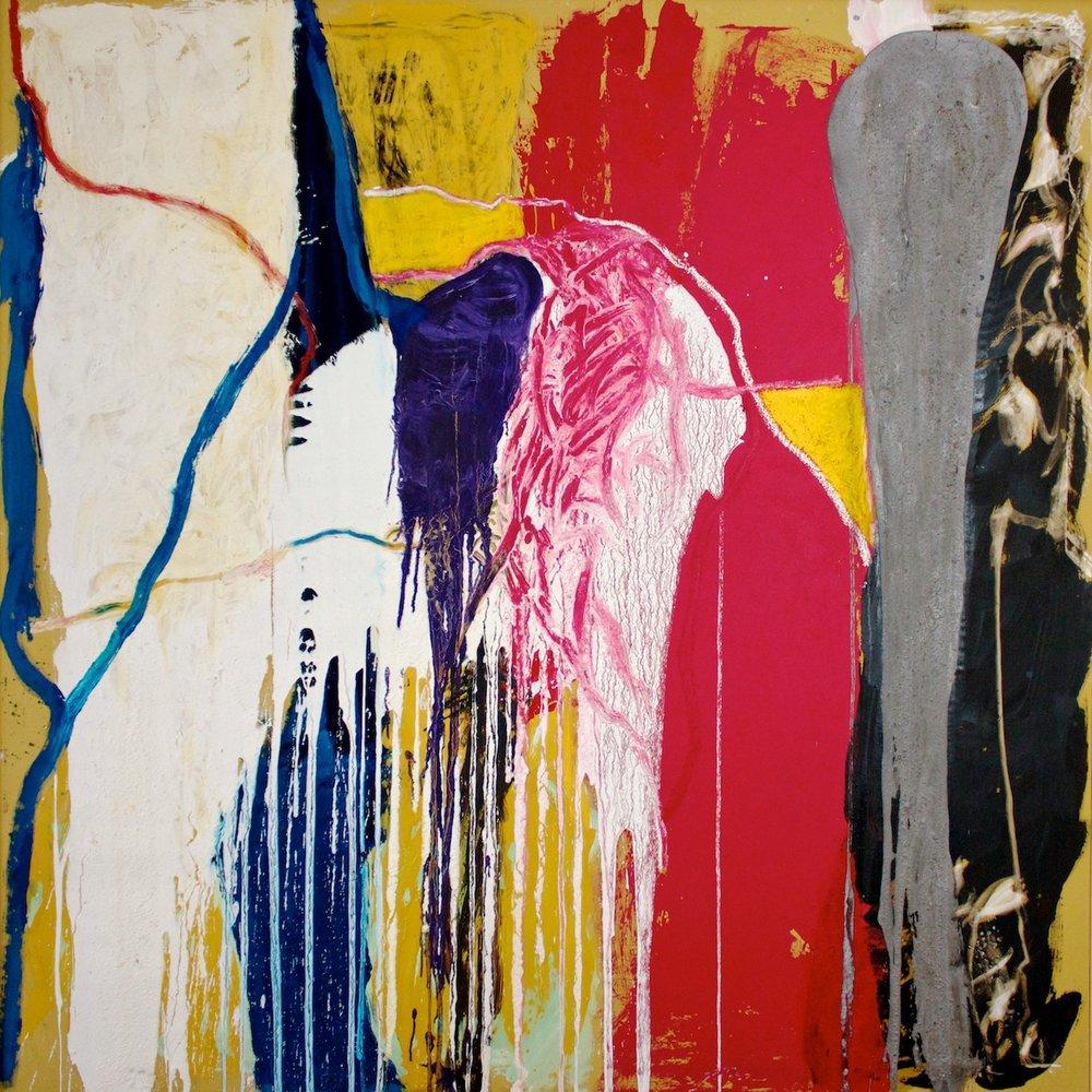 Marcello Mariani - Forma Archetipa 91 - Oil and mixed media on canvas - 2010