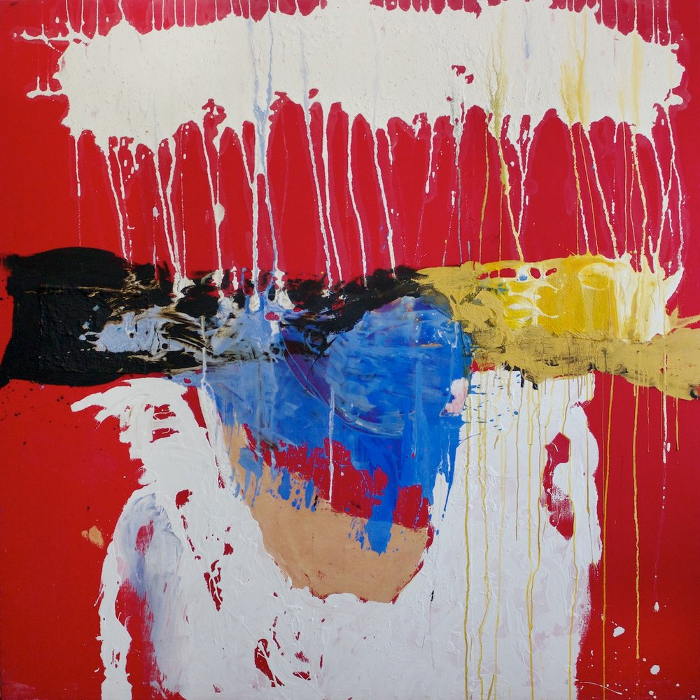 Marcello Mariani - Forma Archetipa - Oil, collage and mixed media on canvas - 2011