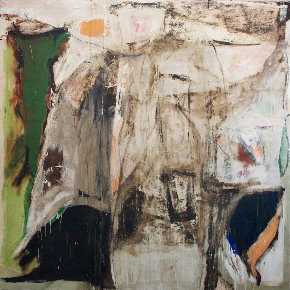 Marcello Mariani - Forma Archetipa - Oil and mixed media on canvas - 2013