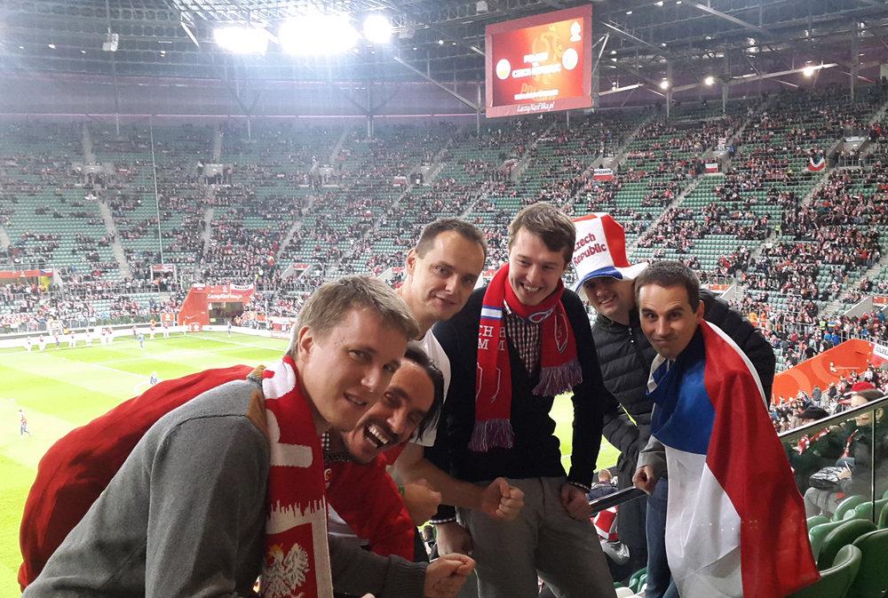 Krzyszof Wierzbicki, Lukasz Zych, Marcin Chwalik a my z Mitonu jsme nebyli vždy na stejné straně při sportu, ale v e-commerce tématech to šlo.