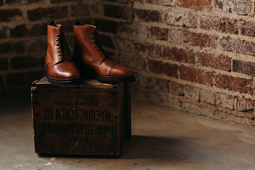Classic and comfortable, the George boot is ready to take you on an adventure.