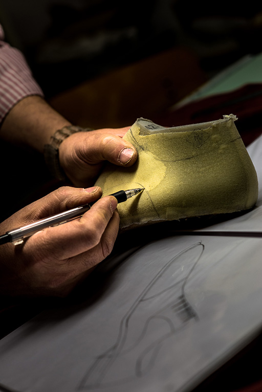 Bespoke last-making at Mario Bemer Firenze