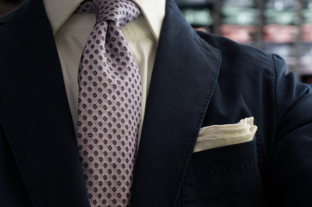 Andrew's Ties Sweden beautiful purple tie.