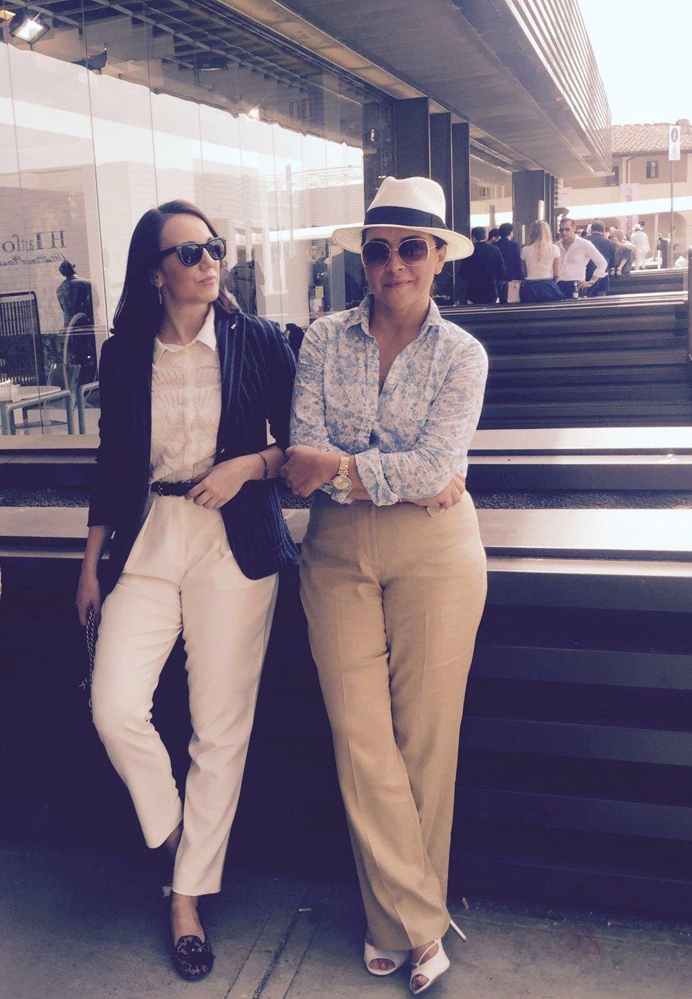 Women in menswear - Laura de Rochas & Mary-Cait Bristow