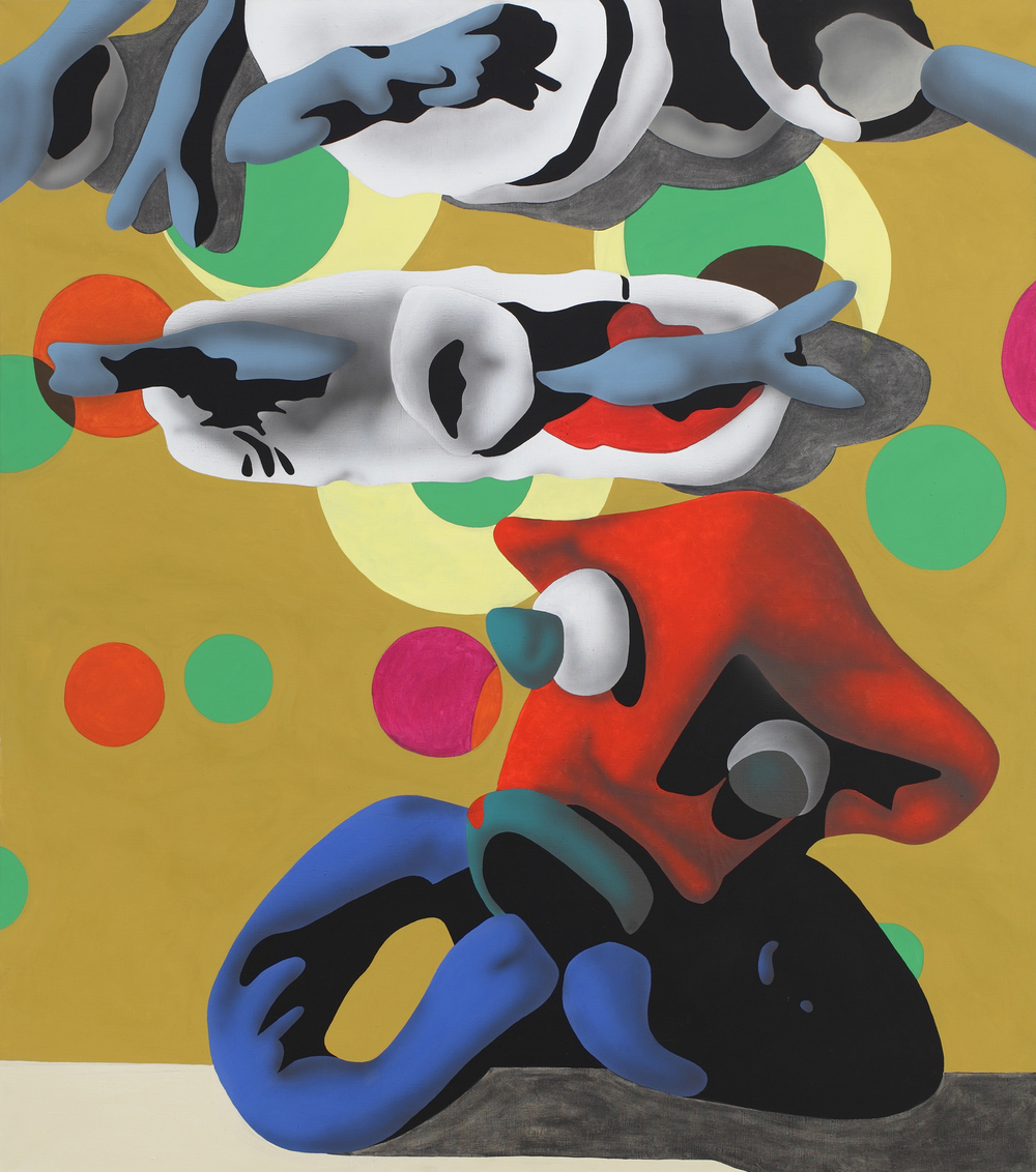 What About It?, 2003, acrylic on canvas, 170 x 150 cm