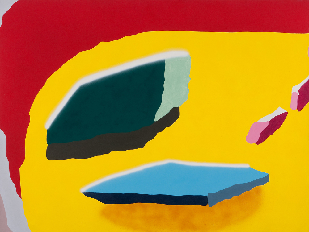 Architecture VIII. 2006, acrylic on canvas, 120 x 160 cm