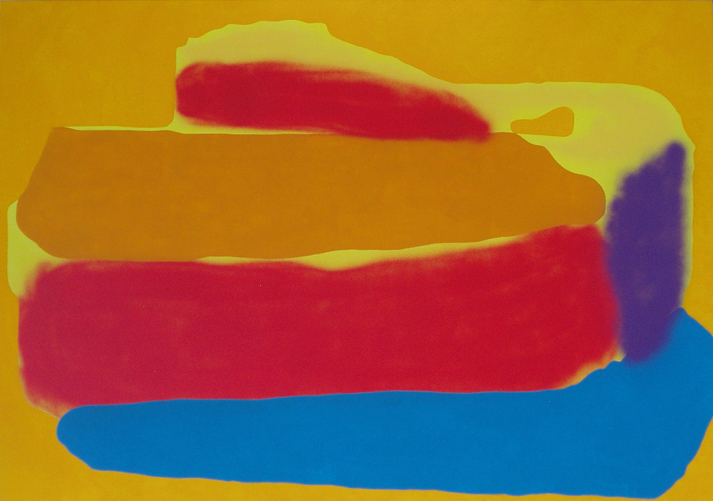 Ship II. 2006, acrylic, spray on canvas, 170 x 120 cm