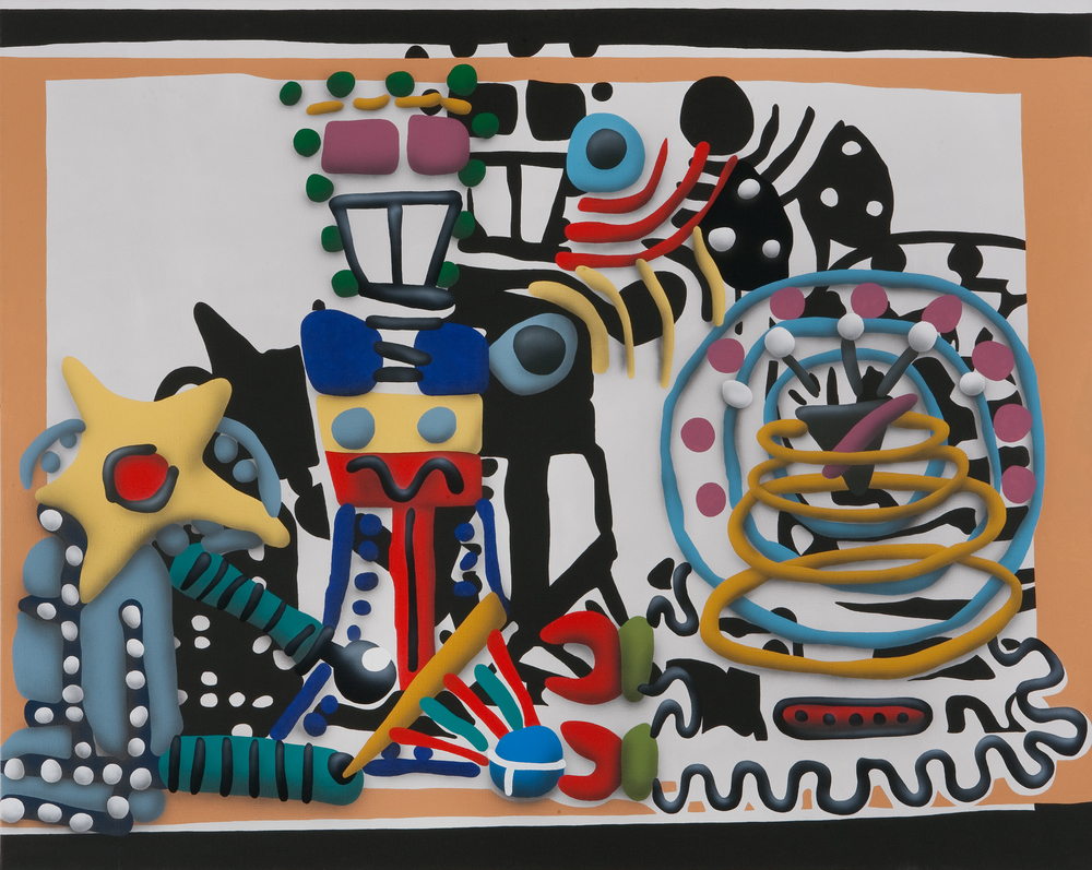 Scifi Still Life II, 2008, acrylic on canvas, 150 x 200 cm