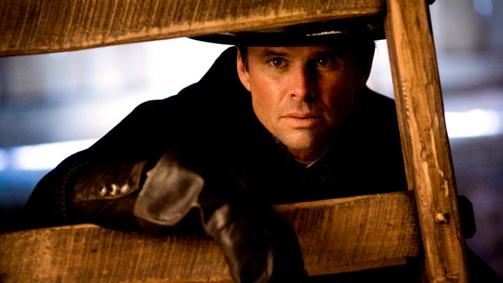 Walton Goggins stars as Chris Mannix in Quentin Tarantino's 'The Hateful Eight'   Andrew Cooper/SMPSP/The Weinstein Company