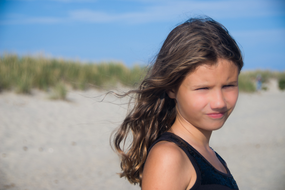 Beach portrait photography