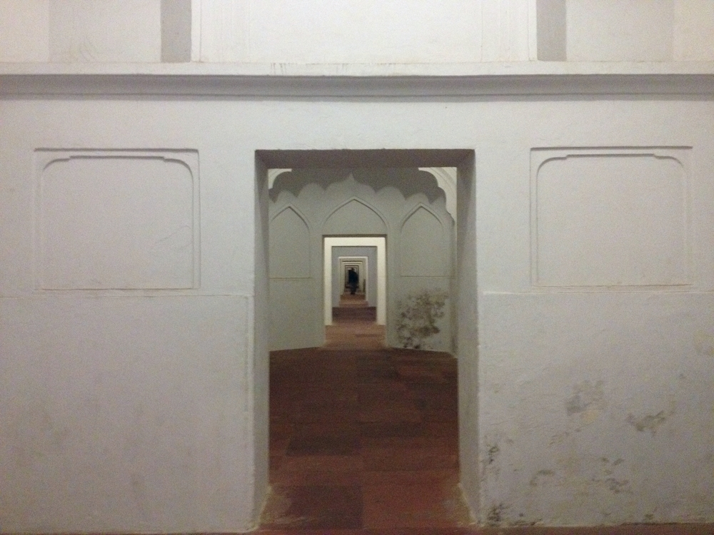 Doorways in the mosque